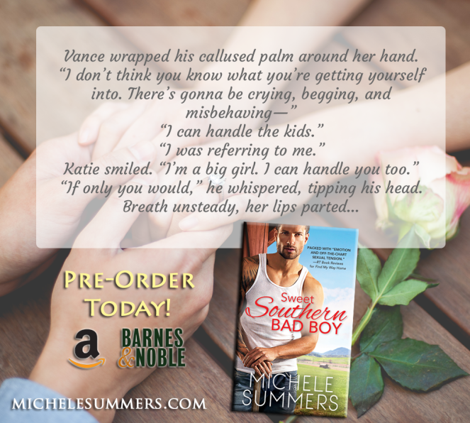 Sweet Southern Bad Boy Book Teaser