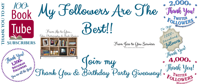 Birthday Party Giveaway Banner