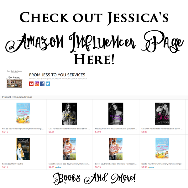 From Jess to You's Influencer Page Button - Dec 2017