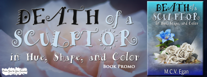 Death of a Sculptor Book Promo Banner