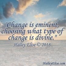 2018 - Change Is Eminent