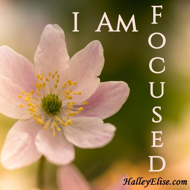 I Am Focused